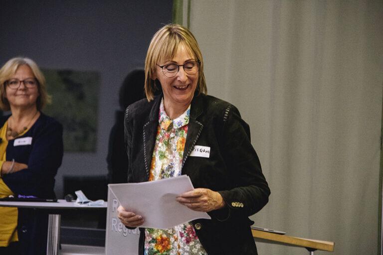 Scheidende Kassierin Magª Elisabeth Marschalek