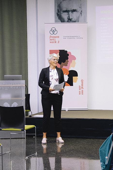 Magª Elisabeth Mitterbauer leitet die Neuwahl