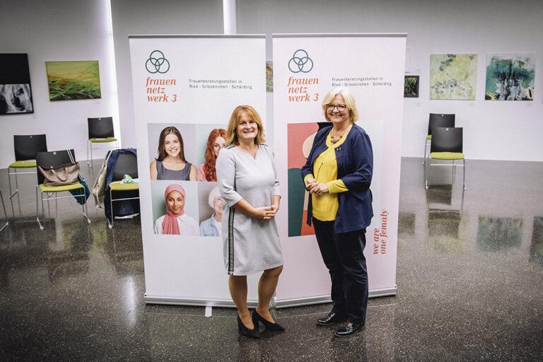 Grieskirchen - Sabine Ameshofer und Eva Kapsammer