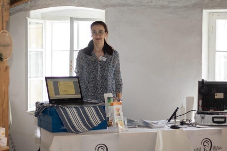 Förderung durch hör- und heilpädagogische Maßnahmen: Christine Humer