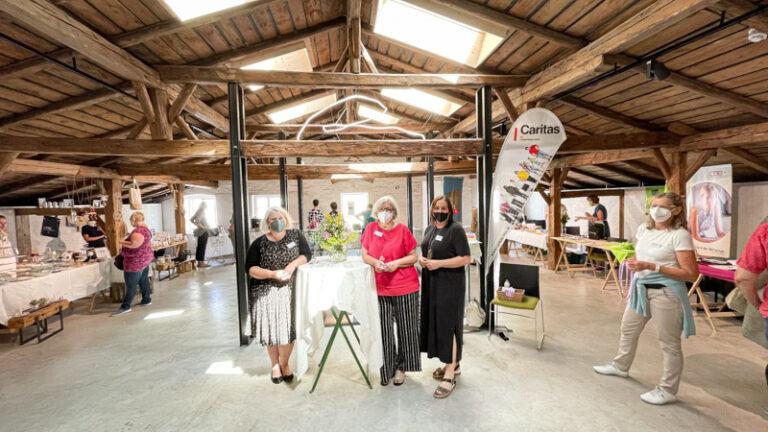 In einem wunderschönen Ambiente – in der frisch renovierten GIESSSEREI, Haus der Nachhaltigkeit – präsentierte sich Talent & Mehr am 25. Juni 2021.